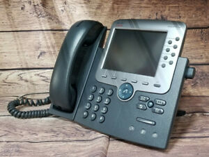 Cisco 7975 Unified Color Lcd 8 line Voip Business Telephone Cp 7975g