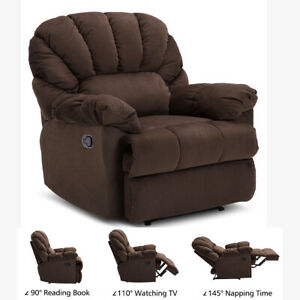 Gaming Chair Racing Office Recliner Leather Computer Seat Ergonomic W footrest
