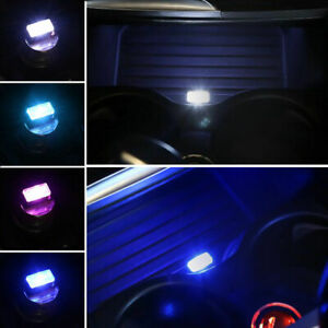Mini Usb Led Wireless Car Interior Lighting Atmosphere Light Foot Lamp Accessory