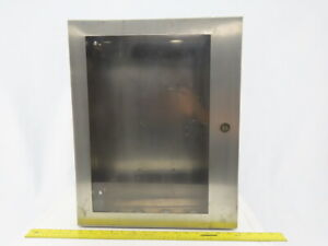 Hoffman C sd20166wss Stainless Steel Electrical Enclosure 20x16x6 W back Plate