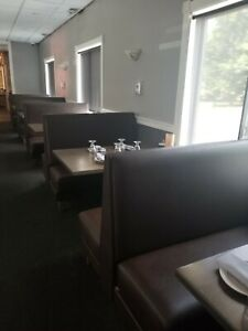 Restaurant Booth Seating For 50 People