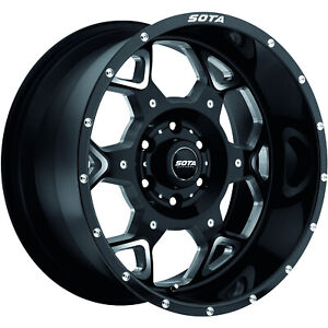 20x9 Black Sota Skul 6x135 0 Rims Nitto Terra Grappler G2 305 50 20 Tires