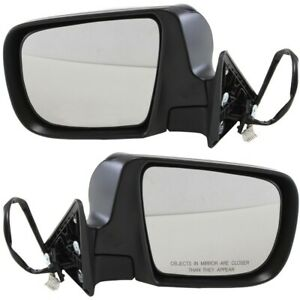 Set Of 2 Mirror Power For 2005 2008 Subaru Forester Left And Right Heated