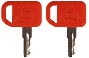 2 John Deere Heavy Construction Equipment Ignition Keys At195302