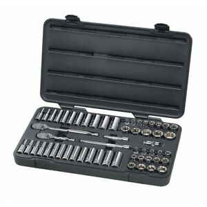 Kd Gearwrench 80550 57 Piece 3 8 Inch Drive 6 Point Socket Set