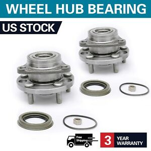 New 2 Front Wheel Bearing Hub For Pontiac Sunfire Chevy Cavalier Buick 513017k