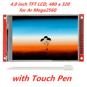 Red 4 0 Inch Tft Lcd Touch Screen Display Module 480x320 For Arduino Mega2560