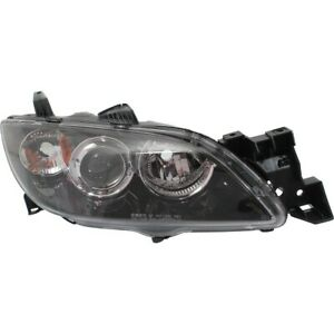Headlight For 2004 2009 Mazda 3 Passenger Side