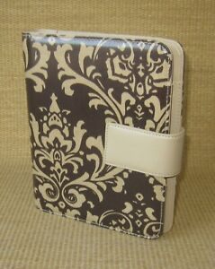 Classic Franklin Covey Brown Durable arabesque 1 125 Rings Planner binder
