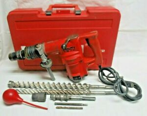 Hilti Te 72 Rotary Hammer Drill Chipping Hammer Jack With Case Attachments