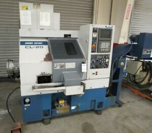 Mori Seiki Cl 20b Cnc Lathe With Lns Quick Load Bar Feed