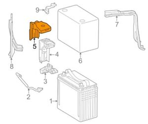 For Toyota Genuine Battery Terminal Protector 8282147110