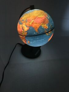 Hammond Desk Light Up Globe 9 Made In Germany Great Condition