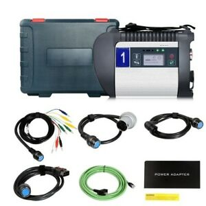 Dhl New V2021 3 Mb Sd C4 Plus Star Diagnosis Support Doip For Cars And Trucks