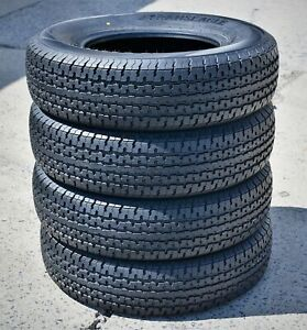 4 New Transeagle St Radial Ii St 225 75r15 Load D 8 Ply Trailer Tires