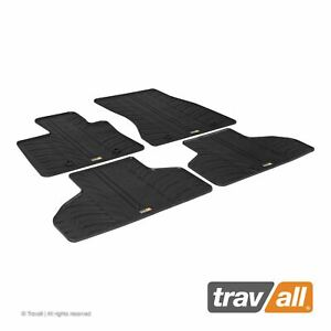 Travall Car Floor Mats All Weather Rubber Liner For Bmw F15 X5 2013 2018