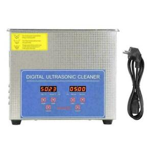Stainless Steel 1 3 3l Digital Industry Heated Ultrasonic Cleaner Heater W timer