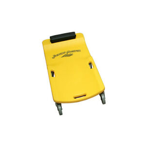 Lisle 93032 Lg wheel Creeper yellow