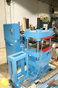 Wabash 200 Ton Hydraulic Up Acting 4 Post Heated Platen Press 20hp Pump