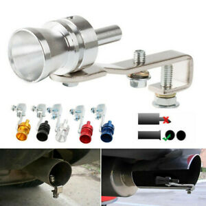 Turbo Sound Whistle Muffler Exhaust Pipe Simulator Whistler For Auto Car