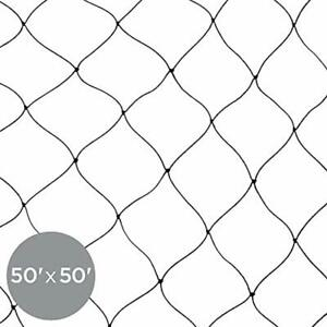 50x50ft Multi filament Protective Mesh Bird Netting For Birds Poultry Games