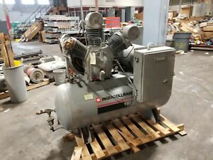 Ingersoll Rand 25 Hp Industrial Air Compressor 80 Gallon 230 460 Vac T3025120h