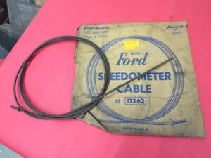 Nos 1935 1936 1937 Ford Inner Speedometer Cable 48 17262 D 4 13