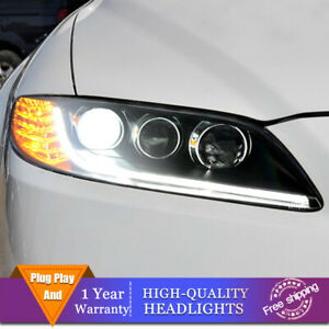 For Mazda 6 Atenza 2003 2008 Headlights Double Lens Beam Projector Hid Led Drl