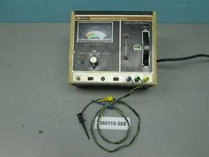 Dynascan Bk Precision 520b Transistor Tester With Leads