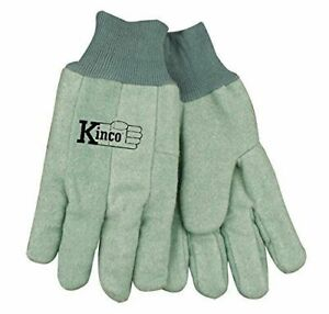 Kinco Chore Green Cotton Work Gloves Size Xxlarge Farm Construction 1 Pair