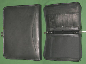 Classic 1 0 Left Handed Binder Day Runner Planner Leather Franklin Covey