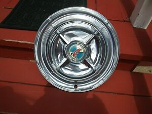 55 56 Dodge Spinner Hubcaps 15 Set Of 4 Wheel Covers Hubcaps
