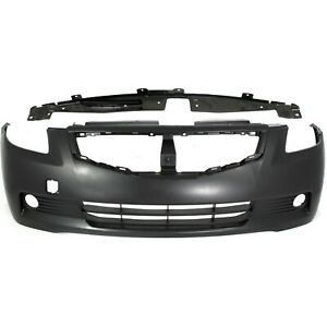 Bumper Cover Kit For 2008 2009 Nissan Altima Front 2 Door Coupe 2pc