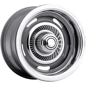 4 15x7 Silver Vision Rally Wheel 6x5 5 6x139 7 6 Offset 55 5783