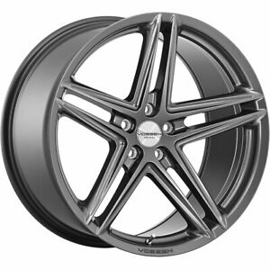 4 20x9 Gray Wheel Vossen Vfs5 5x120 35