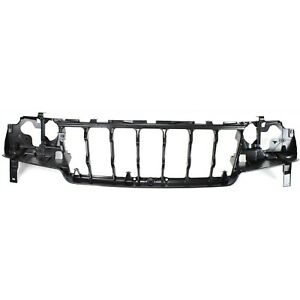 Header Panel For 99 03 Jeep Grand Cherokee Headlamp Mount Abs Plastic