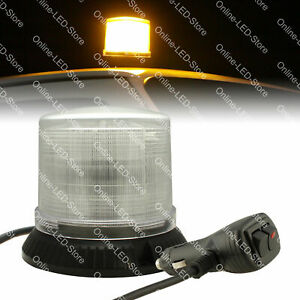 12w Led Police First Response Personal Emergency Vehicle Beacon Light White