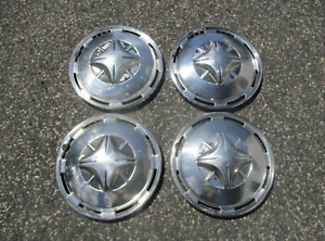 Factory 1973 1974 Toyota Corolla 13 Inch Metal Hubcaps Wheel Covers