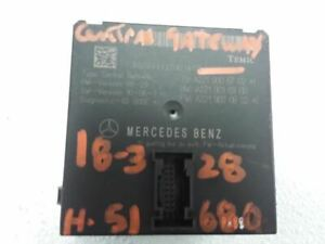Gateway Multiplex Network Module 10 14 Mercedes Cl Class 773451 Id 2219006702