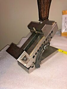 Toolmakers Precision Grinding Phase Ii Compound Adjustable Vise 3 X 8 1 4