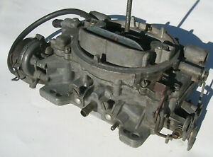 Carter Afb 9410s 4 Barrel 400 Cfm Carburetor 2x4 Dual Quad 6 Cylinder
