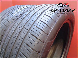 2 Two Tires Nice Pirelli 245 45 18 Cinturato P7 M s Runflat 100h Oem Bmw 50729