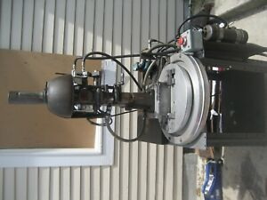 Walker Turner Industrial Drill Press w raising Head And Pneumatic Quill Control