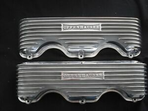 Offy 5042 Chevrolet 348 409 Finned Valve Cover Set