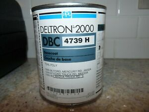 Ppg Deltron Dbc 4739 H Basecoat Teal Poly 1993 97 Ford Mazda Mercury 6630a Pint