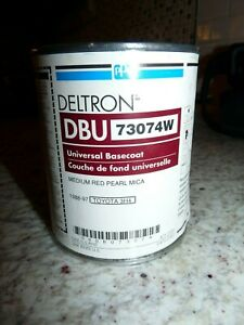 Ppg Deltron Dbu 73074w Basecoat Medium Red Pearl Mica 1988 97 Toyota 3h4 Pint