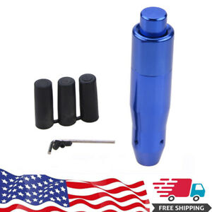Blue Leather Universal Car Automatic Gear Stick Shift Knob Shifter Lever Handle