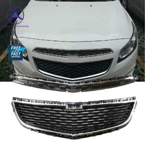 Fits For Chevy Cruze 2015 Front Lower Upper Grille Mesh 2pcs Set