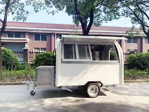 Truvie Trailers R10 Round Model Food Trailer Concession Trailer Mobile Kitchen