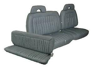 Chevy Extended Cab Truck Cloth Upholstery For Front 60 40 Bench Rear 1992 1995